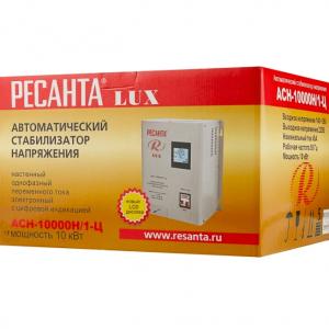 стабилизатор напр. Ресанта Lux АСН-10000 Н/1-Ц