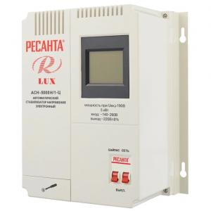 стабилизатор напр. Ресанта Lux АСН- 5000 Н/1-Ц