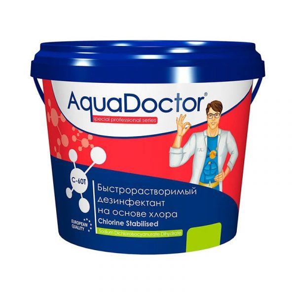 AquaDoctor C-60T хлор-шок в таблетках 1 кг