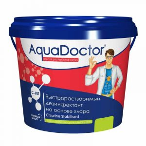 AquaDoctor C-60T хлор-шок в таблетках 20 г