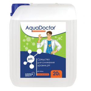 AquaDoctor pH Minus жидкий 20 л (Серная 35%)