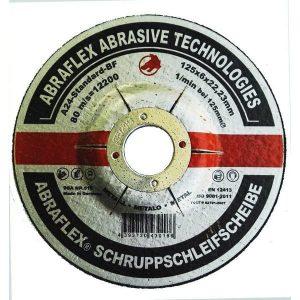 диск п/мет. AbroFlex 125*6*22 (зачистной) (10)