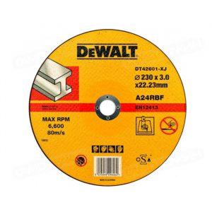 диск п/мет. DeWalt  отрезной вогнутый,ф125х22.2х3.0м