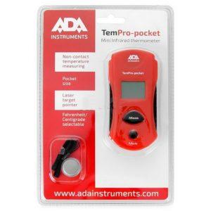 Пирометр инфракрасный ADA TemPro-pocket (от -30°С до +250°С)