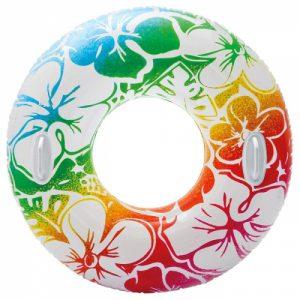 Круг надувной Transparent 97см, от 9 лет, 3 цвета