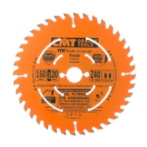 диск пильный CMT 160x20x2,2/1,6 10° TCG Z=40