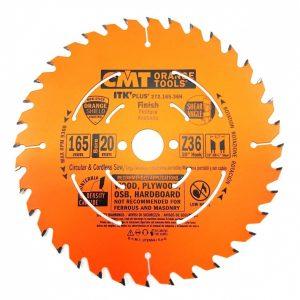 диск пильный CMT 165x20(+15,87)x1,7/1,1 20° 10° ATB + 8° SHEAR Z=36