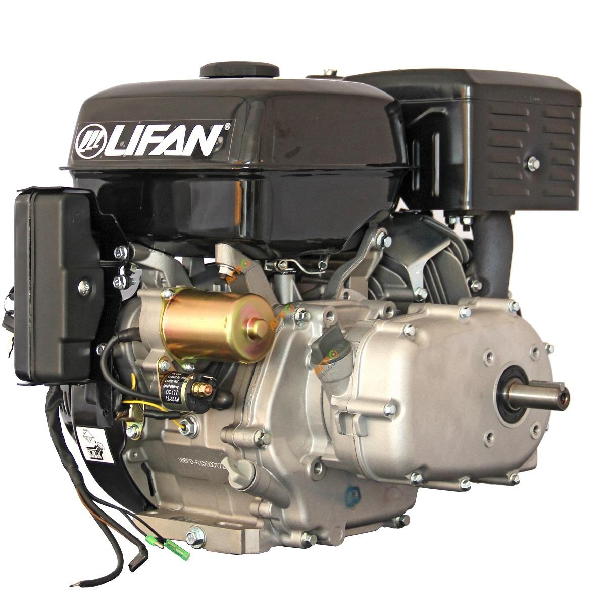 двигатель LIFAN 177 FD-R (9 л.с. электро, сцеплеие)