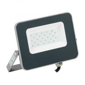 прожектор ИЭК светодиод СДО 07-20B зеленый 20Вт 200Лм корпус сер IP65