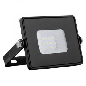 прожектор с/д Ферон LL918 10W 6400K IP65 черный/многоматр. 108*115*26