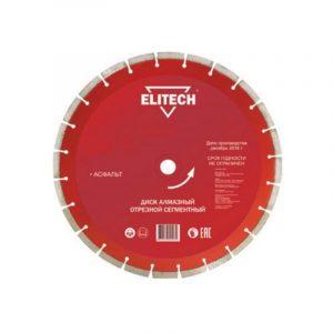 диск алм. ELITECH 400*25,4 асфальт