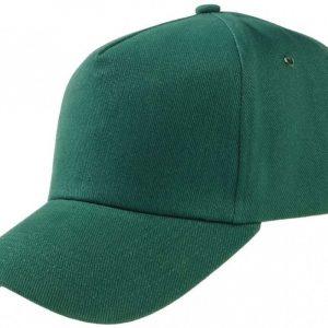 Кепка-бейсболка, цвет: зелёный (размер регулирируемый)