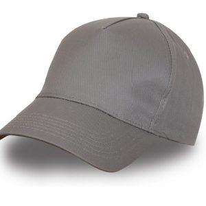 Кепка-бейсболка, цвет: серый( размер регулирируемый)