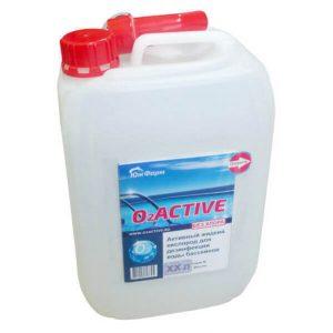 O2Active-средство для дезинфекции бассейнов  5л.