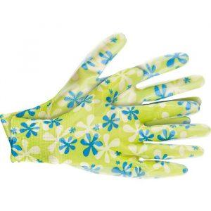 перчатки Палисад садовые с обливом L зелен.