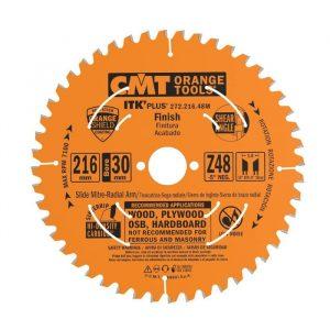 диск пильный CMT 216x30x1,8/1,2 -5° 10° ATB + 8° SHEAR Z=48