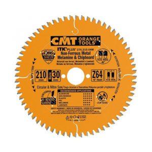 диск пильный CMT 216x30x2,8/1,8 -5° 15° ATB Z=64
