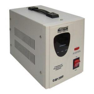 стабилизатор напр. RUCELF СтАР- 2000