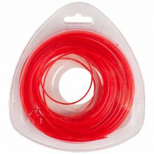 """леска DDE """"Speed line"""" (звезда) 2,4 мм х 15 м, красный"""