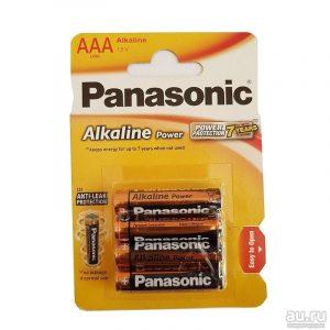 бат. PANASONIC Alk LR03 (ААА) 2BL