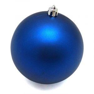 Рождественский шар 15 см, синий