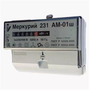 счётчик эл. Меркурий 231 AМ-01 Ш