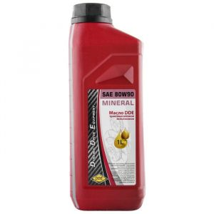 масло DDE трансмиссионное SAE 80W-90,  API GL-5( 1л ) минеральное