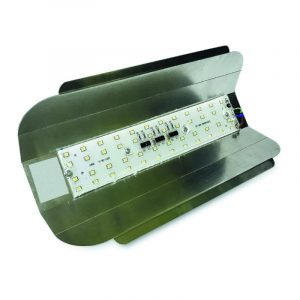 прожектор с/д строительный 220 В 100 Вт 2835 7000 Лм IP65 PF-0.9 6500 K