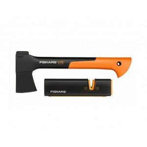набор FISKARS  Топор Х7 + точилка для топоров и ножей + нож К40