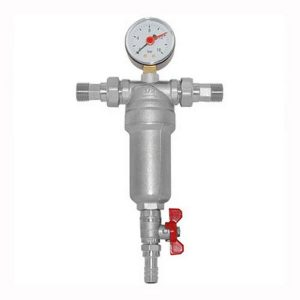 фильтр вод. Thermofix самопромывной с маном. 3/4