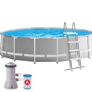 бассейн Каркасный круглый 366х122 см. л, Intex Prism Frame