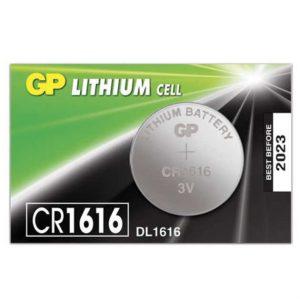 бат. GP CR 1616RA-7C5
