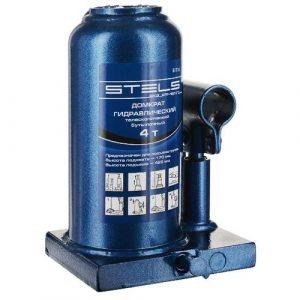 домкрат STELS гидравл. бут.  4 т, h подъема 170–420 мм