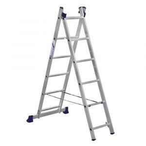 лестница 2-х секц.  6ступ. 1,68/2,52м