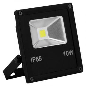прожектор SAFFIT SFL70-10 10W 6400K IP65 115*85*40 чёрный