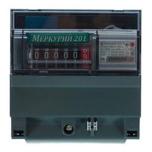 счётчик эл. Меркурий 201.5 5-60А/220в МР 1ф с пов. НЭСК (комплект)
