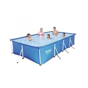 бассейн Каркасный Family Splash 4,0х2,11х0,81м, 5700л, Bestway, арт. 56405