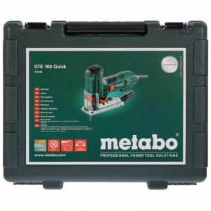 лобзик Метабо STE 100 Quick 710вт,маятн,эл-ка,карт