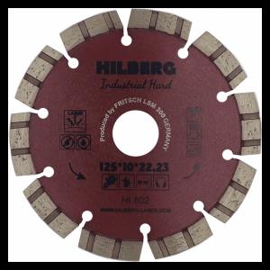 диск алм. Trio Diamond TURBO SEGMENT Industrial Hard 125x10*22.23мм