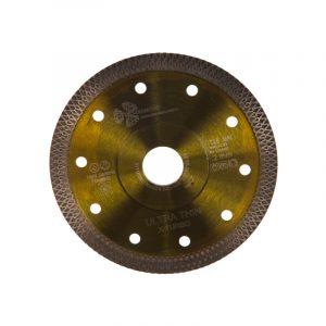 диск алм. Trio Diamond TURBO ультратонкий Ultra Thin X-Turbo 125x10*22.23 Толщина кромки 1,22мм