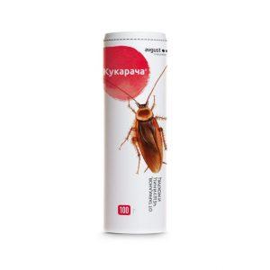 Кукарача 100г (от тараканов, мокриц, чешуйниц) Август х30