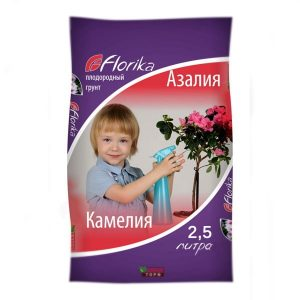 грунт Азалия Камелия Флорика 2,5 л Лама Торф