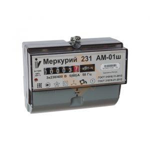счётчик эл. Меркурий 231 AМ-01 Ш с поверкой НЭСК