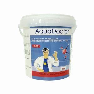 АкваДоктор С-60Т хлор-шок табл.  2О гр.