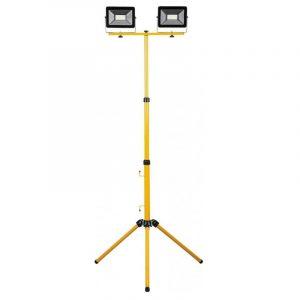 прожектор с/д Ферон LL503 2*50W 6400K IP65 на штативе