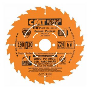 диск пильный CMT 190*30*30*2.6/1.6 Z 24 ATB