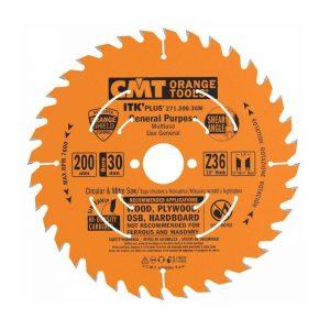диск пильный CMT 200*30*2.8/1.8 Z 36 ATB