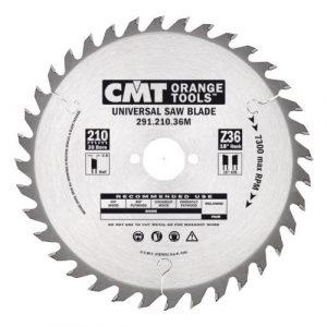 диск пильный CMT 210*30*2.8/1.8 Z 36 ATB