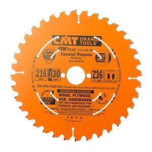 диск пильный CMT 216*30*1.8/1.2 Z 36 ATB SHEAR