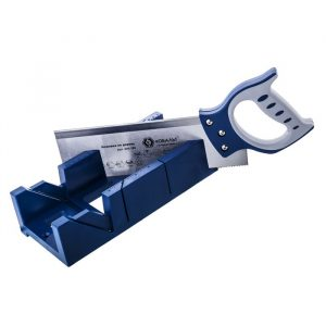 ножовка КОБАЛЬТ 300 мм со стуслом, 12 TPI, зак. зуб, 2D-зат., 2-х комп. рук.